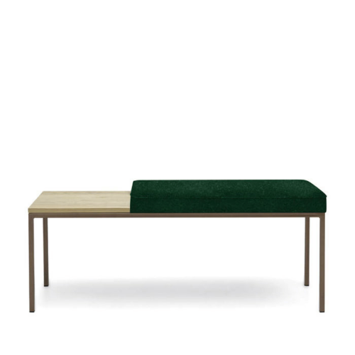Sternzeit Cube Bench Velvet Hunter Green