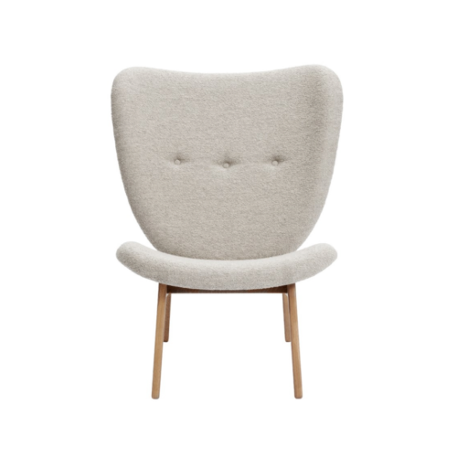 Norr11 Elephant lounge chair fully upholstered smoked oak Barnum 3