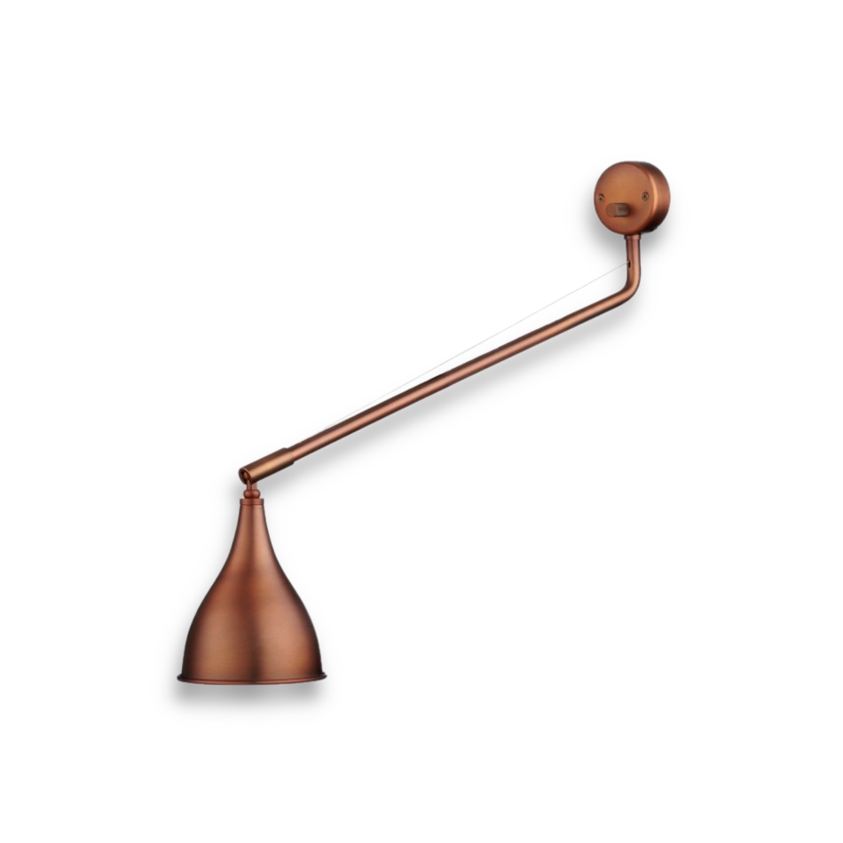 Norr11 Le Six single arm wall lamp copper