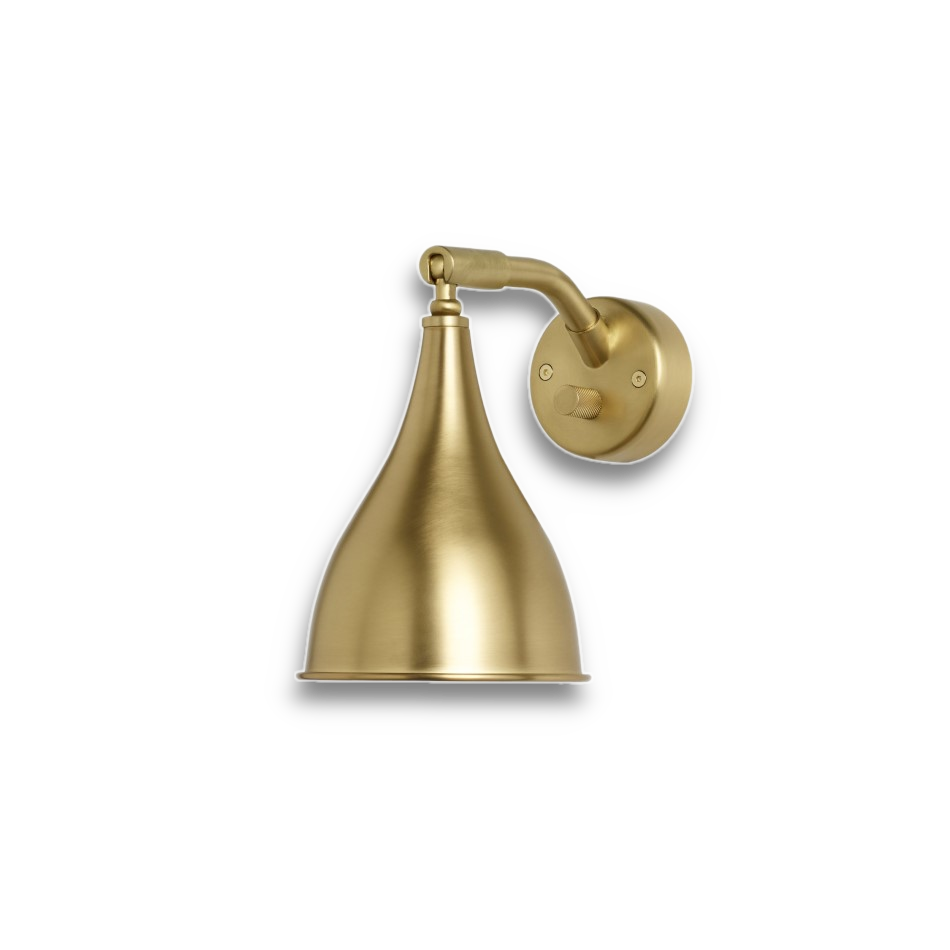 Norr11 Le Six wall lamp brass