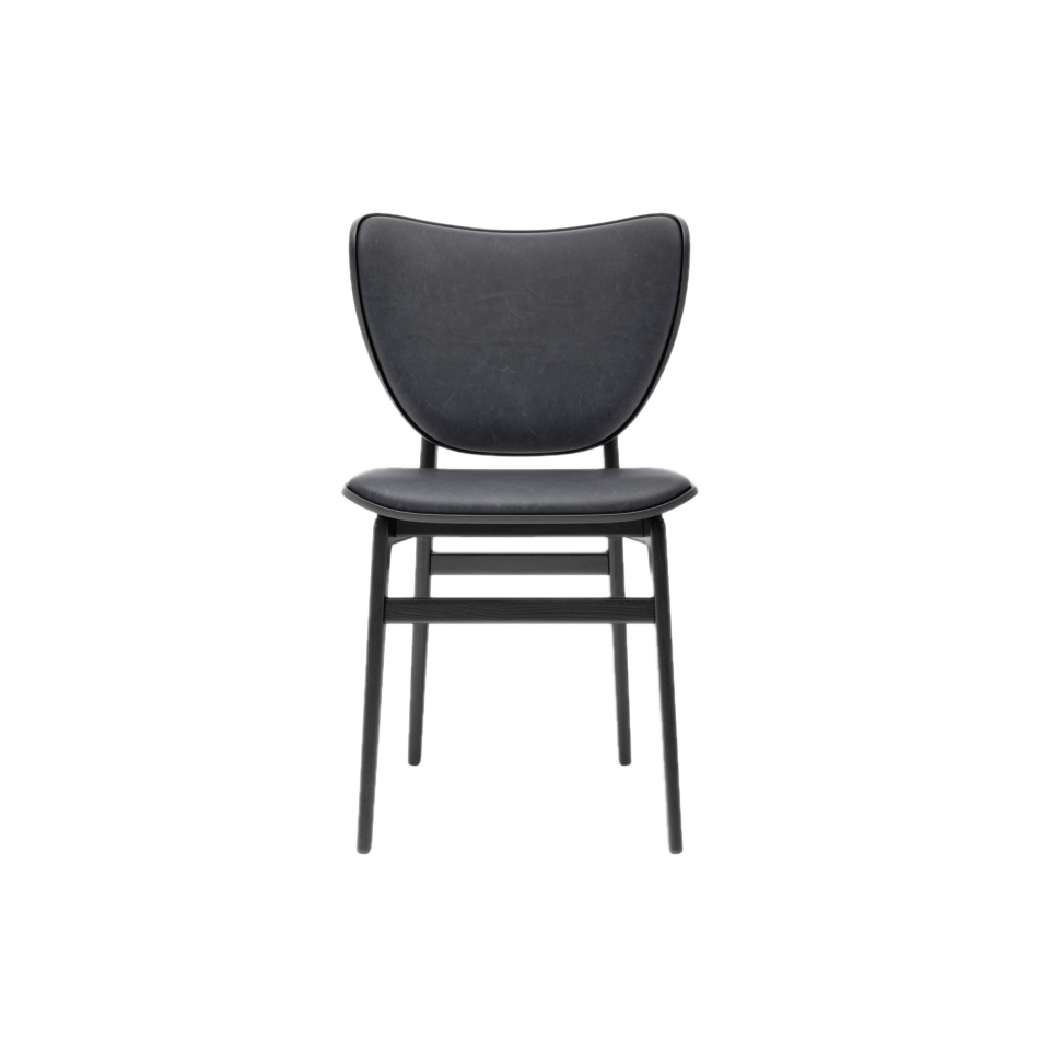 Elephant Dining Chair Black Dunes Anthracite