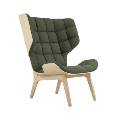 Mammoth Chair Nature Wool Forest Green