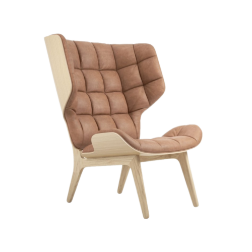 Mammoth Chair Nature Vintage Leather Camel2
