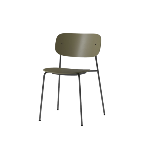 Co Dining Chair Plastic olive